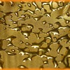 Vintage WEEPING GOLD Small Leaf Dish - USA