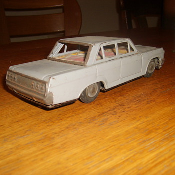 japanese tin model  car - Model Cars