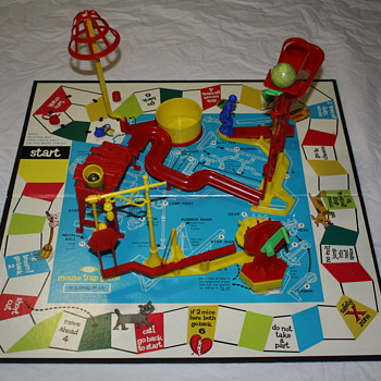 Mouse Trap Game by Ideal (c.1963)