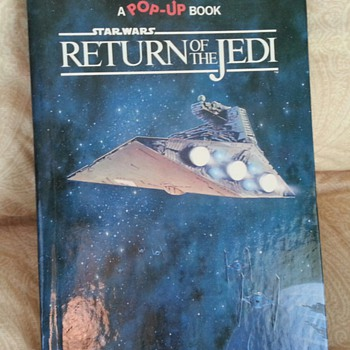 Random House 1983 Star Wars Return of the Jedi Pop Up Book - Books
