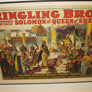 Ringling Brothers and Barnum and Bailey Posters (Separately) at Shelburne Museum - Posters and Prints