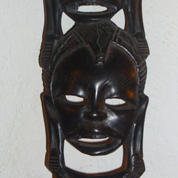 Small African mask - Folk Art