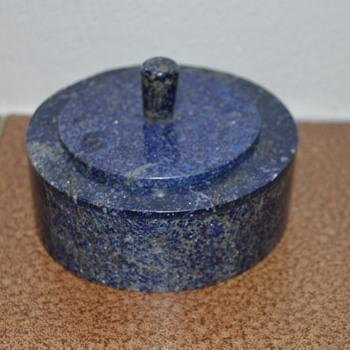 Lapis lazuli trinket box