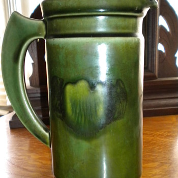 Pottery Pitcher - Art Pottery