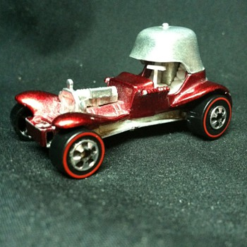 May have a rare Hot Wheel Item, 1970 Vintage Hot Wheel Red Baron Stamped