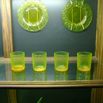 Assorted  Pukeberg Glass - Glassware