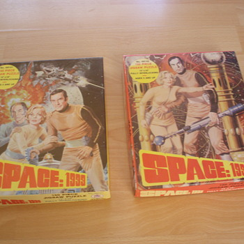 SPACE 1999 JIGSAW PUZZLES 1970's