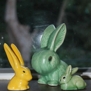 Bright bunnies and one from the dark side!