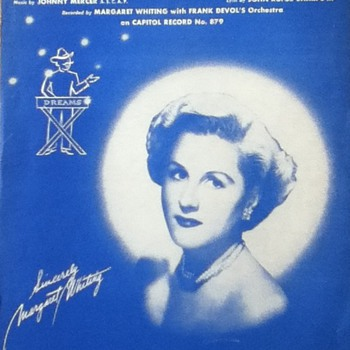 &quot;Dream Peddler&#039;s Serenade&quot; Sheet Music - Paper