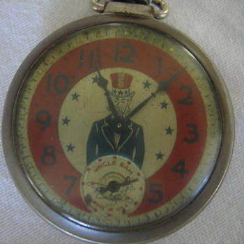 Ingraham Uncle Sam Pocket watch