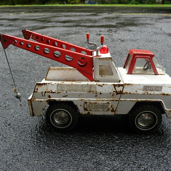 Nylint A-1 Towing truck- double boom