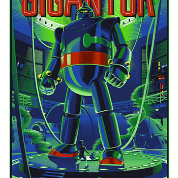 Gigantor, by Laurent Durieux - Posters and Prints