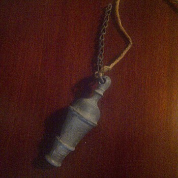 antique brass whistle