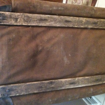 old trunk - Furniture