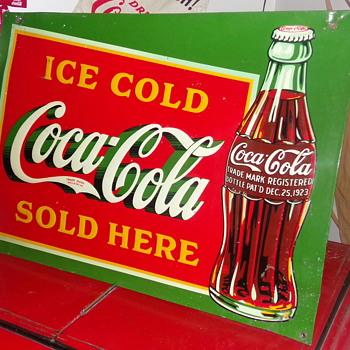 1932 Coca-Cola Sign - Coca-Cola