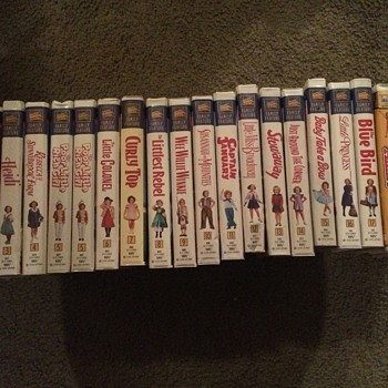 Shirley Temple VHS movies  - Movies