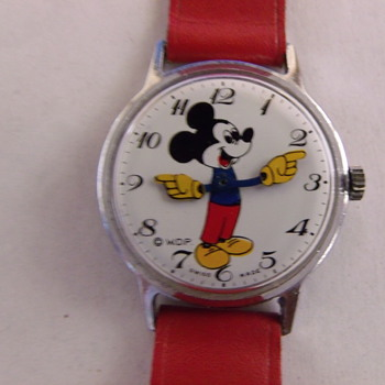 "Mickey Mouse ""Topolino"" Wrist Watch"