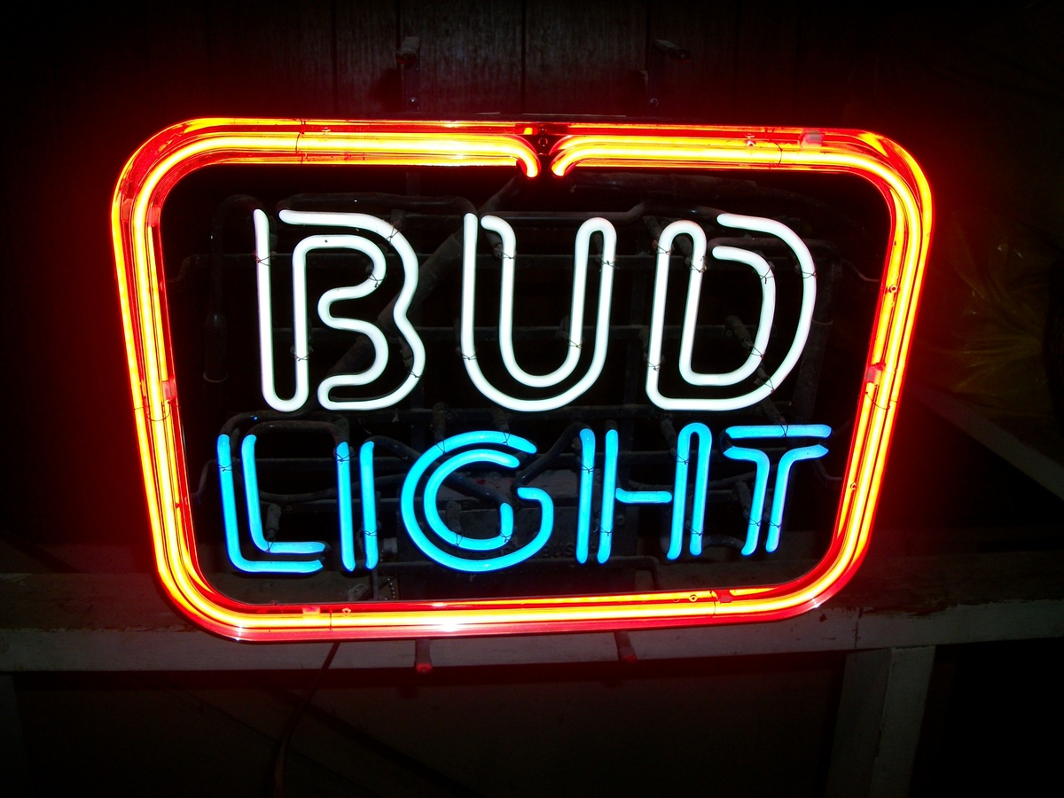 just got this never used and like brand new 1987 bud light. Black Bedroom Furniture Sets. Home Design Ideas