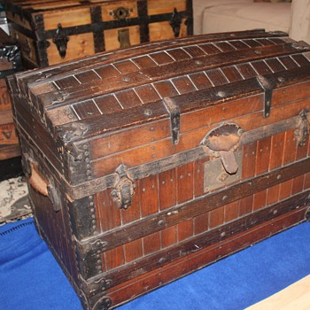 Three Trunks - all very interesting - Furniture