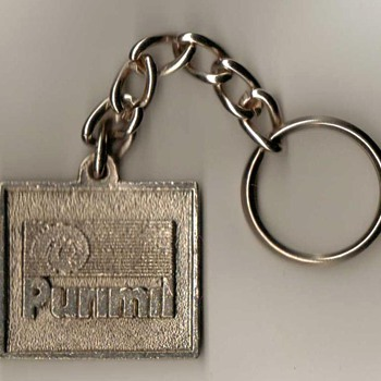 """Purimil Metais"" (Brazil) - Keyfob and Chain"