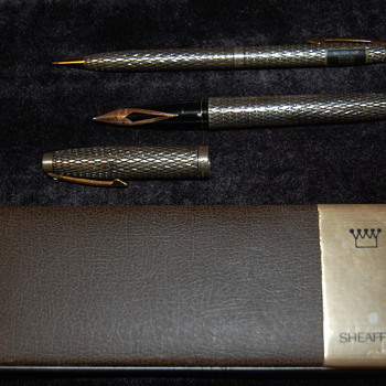 Sheaffer Sterling Silver Set - Pens