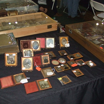 Antique Photography at the Nashville Civil War Show