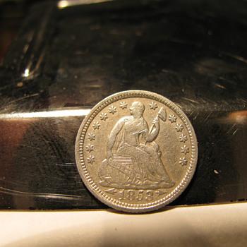 1853 Half Dime - US Coins