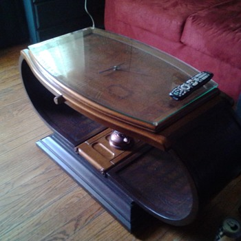 Wrist watch coffee table