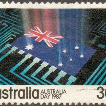 """1987 - Australia - """"Australia Day"""" Postage Stamps"""