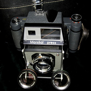 Marshal Press+Nippon Kogaku Nikkor-Tele Lenzen