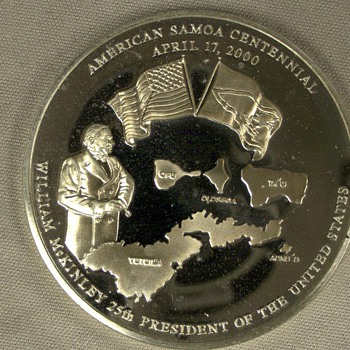Samoa Centennia Coin (Help)