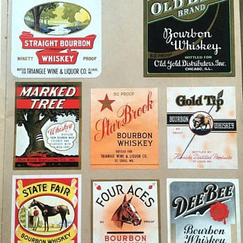 My Collection of Vintage Advertising Labels - Advertising