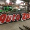 Auto Zone sign