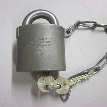 Sargent & Greenleaf High Security Padlock Dated 1976