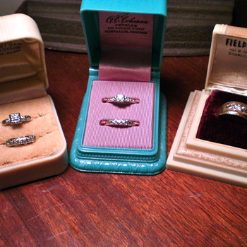 Vintage wedding rings...  - Fine Jewelry
