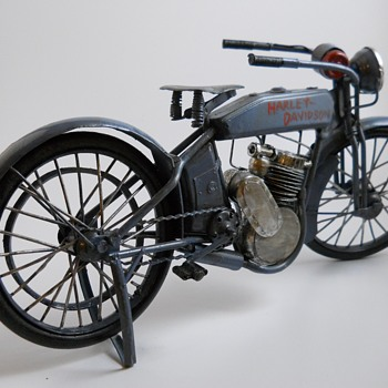 "Toy Reproduction, 1912 Harley Davidson""ToyWagon""20 century"