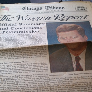 jfk newspaper  - Paper