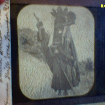 Large collection of glass negatives and positives and Albumin photos by Lala Deen Dayal