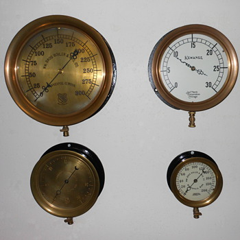Steam Pressure Gauges - Tools and Hardware
