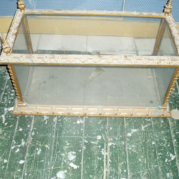 Vintage fish tank or terrarium