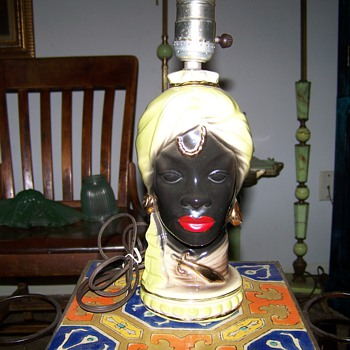 Blackamoor Lamp