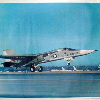 "U.S. Air Force Photo Poster - ""F-111A First Flight"""