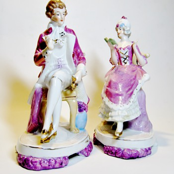 UNKNOWN GERMANY PORCELAIN FIGURINES