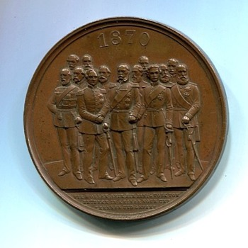 Franco Prussian War Medal