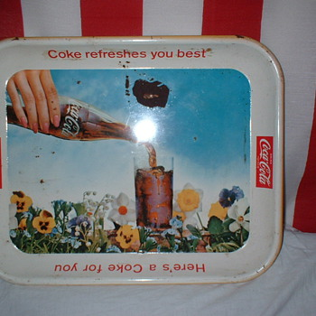 Vintage Coke Trays