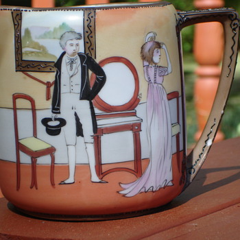 Mystery Noritake pitcher