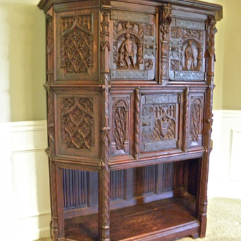 Grandma's Heirloom Cabinet - Furniture