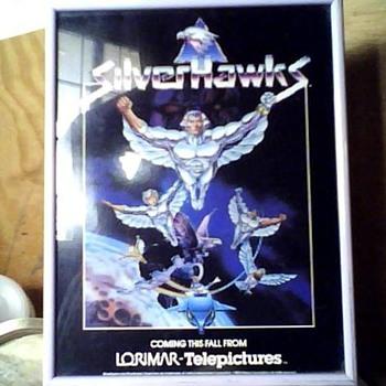 1986 SILVERHAWKS animation T.V serie Brochure - Advertising