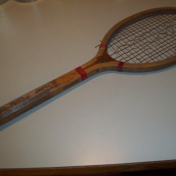 E. Kent Wood Tennis Racket - Sporting Goods