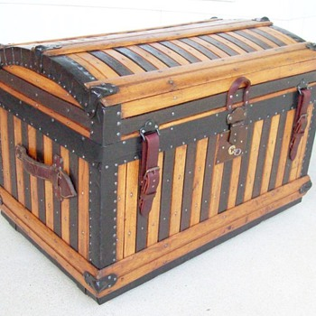 Antique Martin Maier Trunk - Furniture
